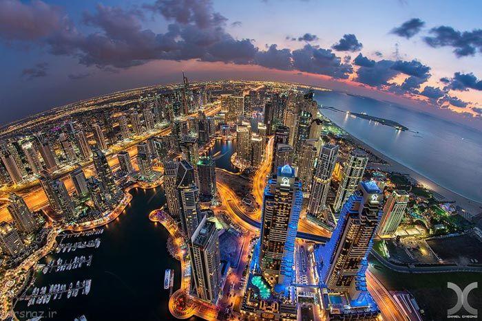 دبی شهری با جلوه های زیبا و خیره کننده