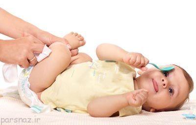 آموزش پوشک گرفتن کودک