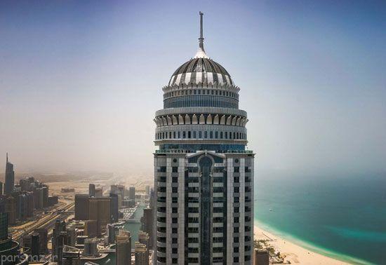 تصاویری از گرانترین برج های جهان