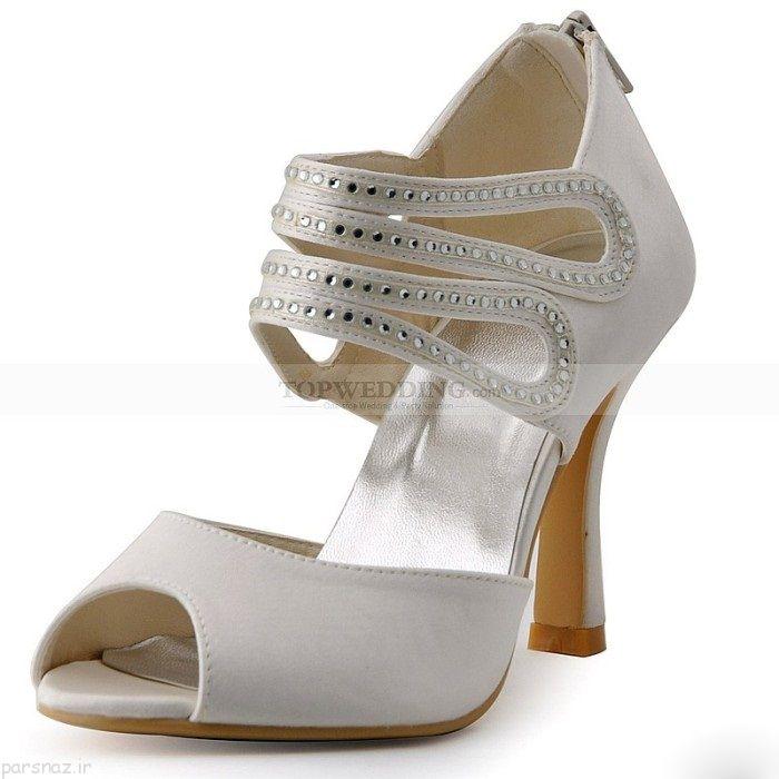 مدل های جدید کفش عروس در سال 1395