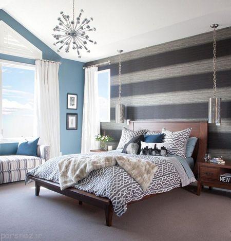 عکس های جذاب از مدل های لوستر اتاق خواب
