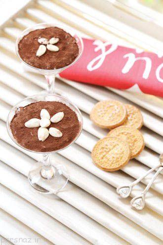 آموزش مدل های شیرینی و دسر بهارانه