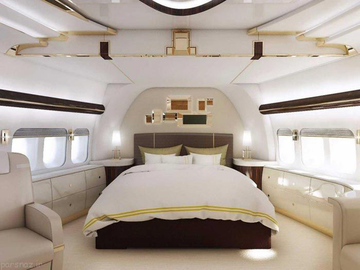 عکس های جذاب از داخل بویینگ 8-747 لوکس