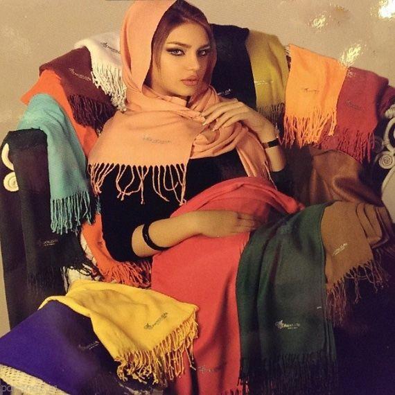 عکس های شال و روسری متنوع و زیبای جدید