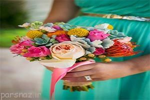 عکس های زیبا از دسته گل های عروس 1398