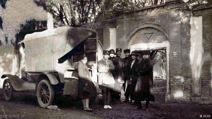 عکس های ناب از ورود اولین خودرو به ایران قدیم