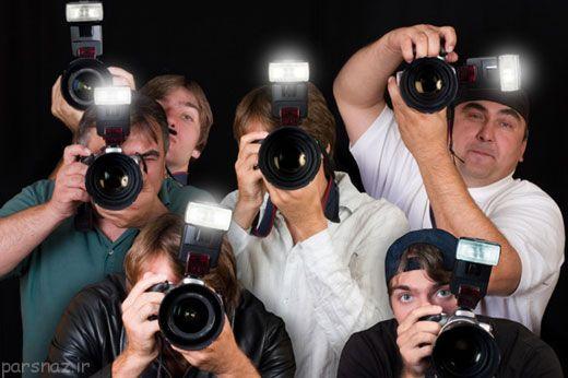 عکس های ستارگان سینما از دوربین عکاسان پاپاراتزی