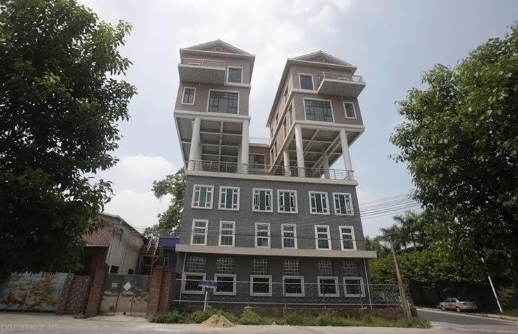 عجیب ترین و شگفت انگیزترین خانه های دنیا