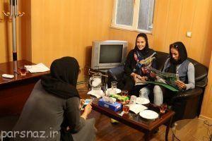 دختر ایرانی بوسیله تلاش فراوان به یک ستاره تبدیل شد