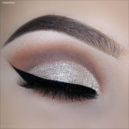 مدلهای زیبای آرایش چشم و ابرو برای مجالس