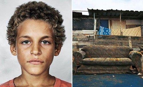 کودکان فقیر و پولدار جهان بر اساس جای خواب