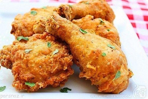 خوردن مرغ سوخاری را برای خودتان ممنوع کنید