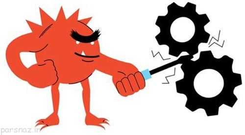 ویروسی شدن کامپیوتر و نشانه های آن