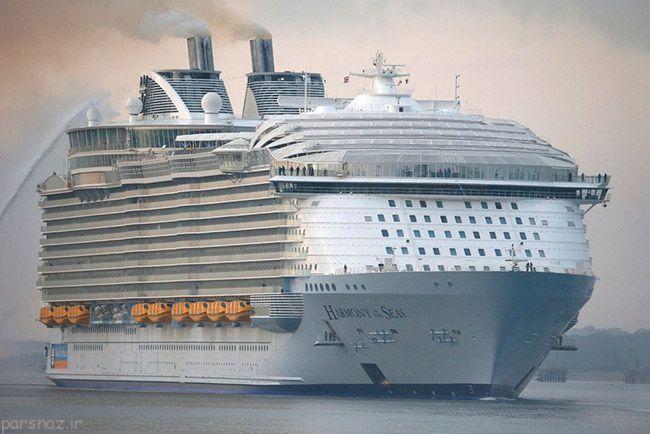 بزرگترین کشتی تفریحی دنیا مرتفع تر از برج ایفل است