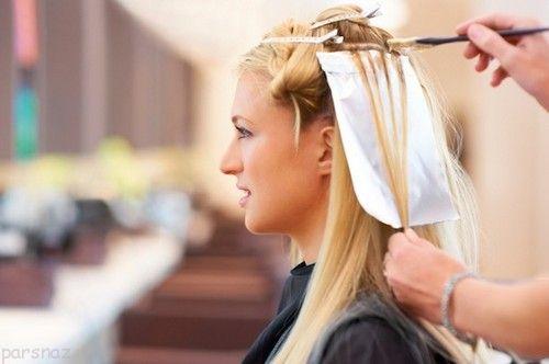 رنگ کردن مو باعث این عوارض می گردد