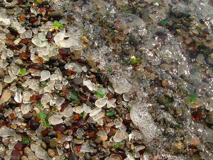 ساحل دیدنی کالیفرنیا از جنس شیشه است