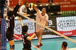 تیم ملی والیبال ایران به المپیک 2016 نزدیک تر شد