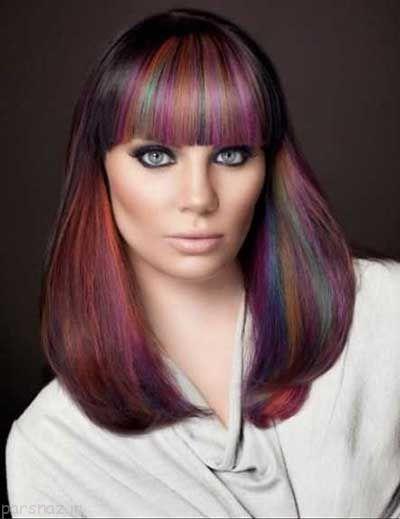 مدل رنگ موهای زیبا برای فصل تابستان