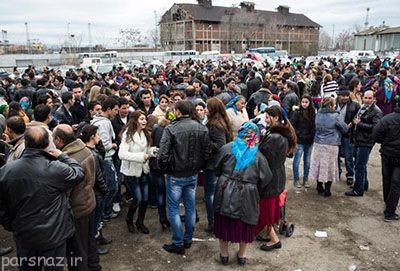 بازار جالب عروس ها در کشور بلغارستان ببینید