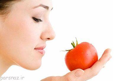 هفت تاثیر گوجه فرنگی روی زیبایی