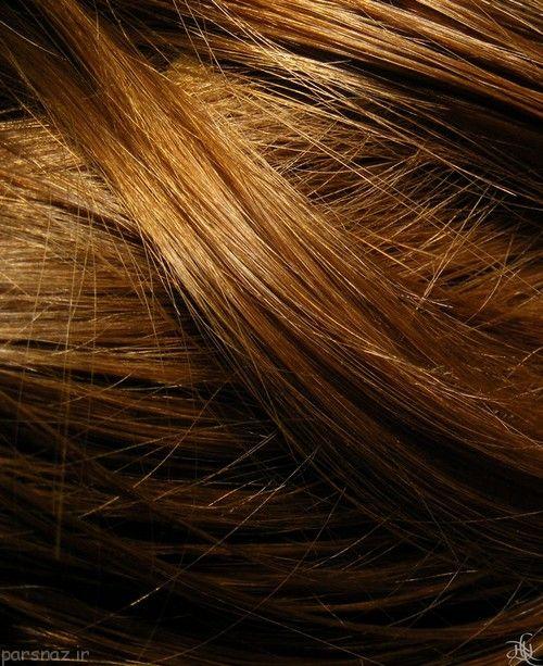 رنگ موی طبیعی رنگ مسی و بلوند