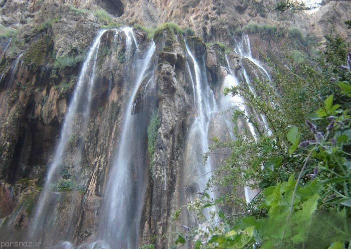 آشنایی با زیباترین و قشنگترین آبشارهای ایران