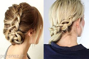 مدل موهای مختلف آرایش و بستن مو