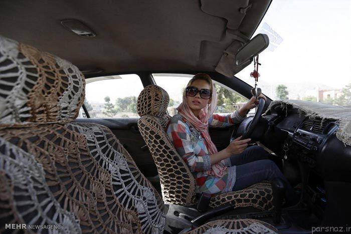 آموزش رانندگی زنان در کشور افغانستان +عکس