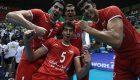 عکس خوشحالی بچه های تیم ملی والیبال ایران