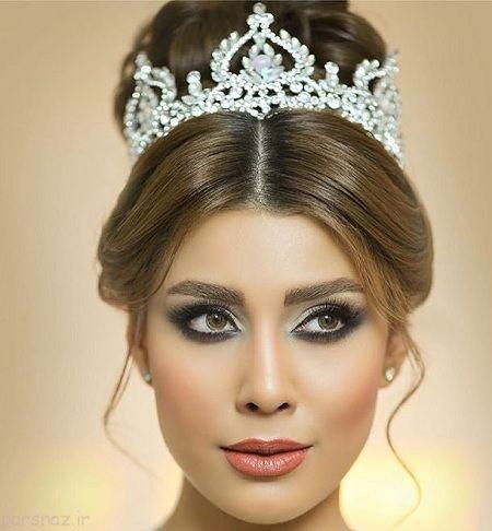 عکس های مدل آرایش عروس ایرانی 1395
