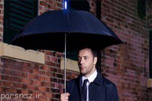 پیش بینی هوا و باران با چتر هوشمند