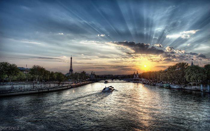 زیباترین طلوع و غروب خورشید در دنیا