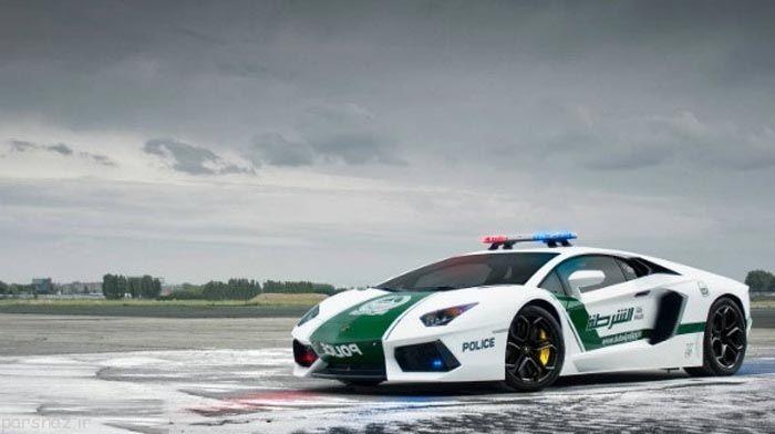 عکس های ماشین پلیس لوکس در سراسر جهان