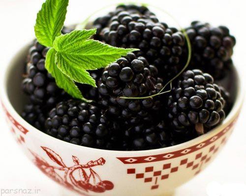 خواص خوراکی های سیاه رنگ را بشناسیم