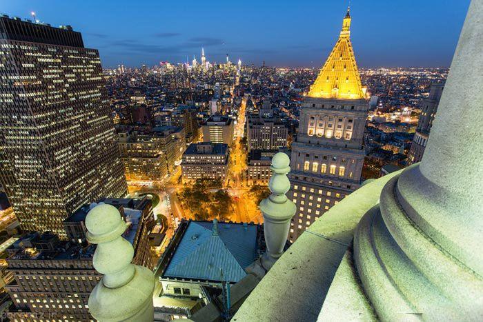 شهر نیویورک آمریکا به روایت تصویر