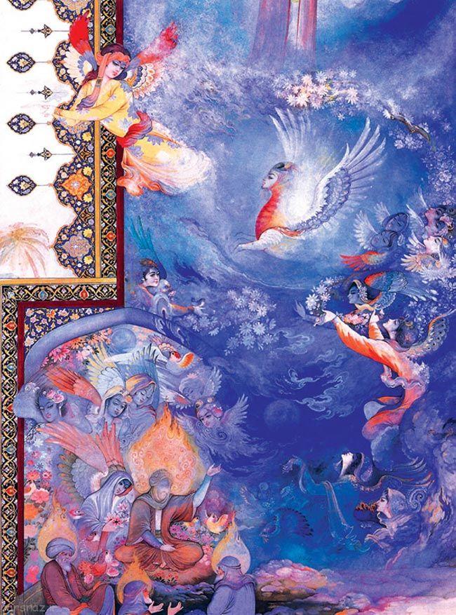 نقاشی مینیاتور ایرانی به روایت عکس