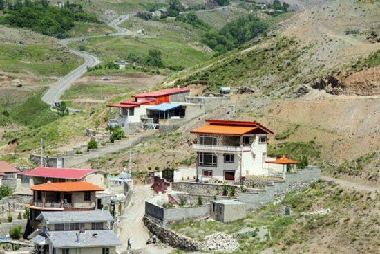 آشنایی منطقه زیبای طالقان به روایت تصویر