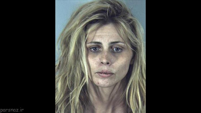 تاثیر مواد مخدر روی قیافه افراد معتاد