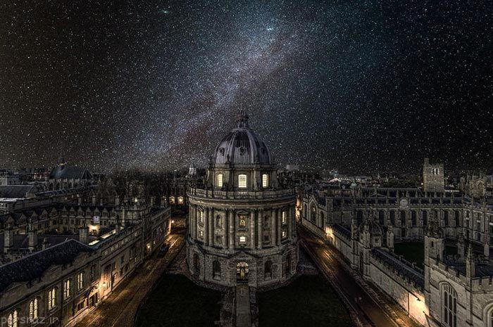عکس های بسیار زیبای نجومی از شب های پر ستاره