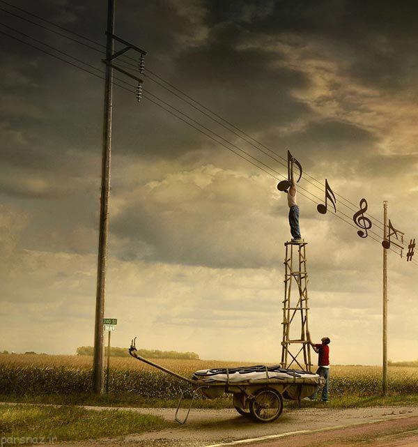 عکس های جالب و دیدنی از یک عکاس هندی