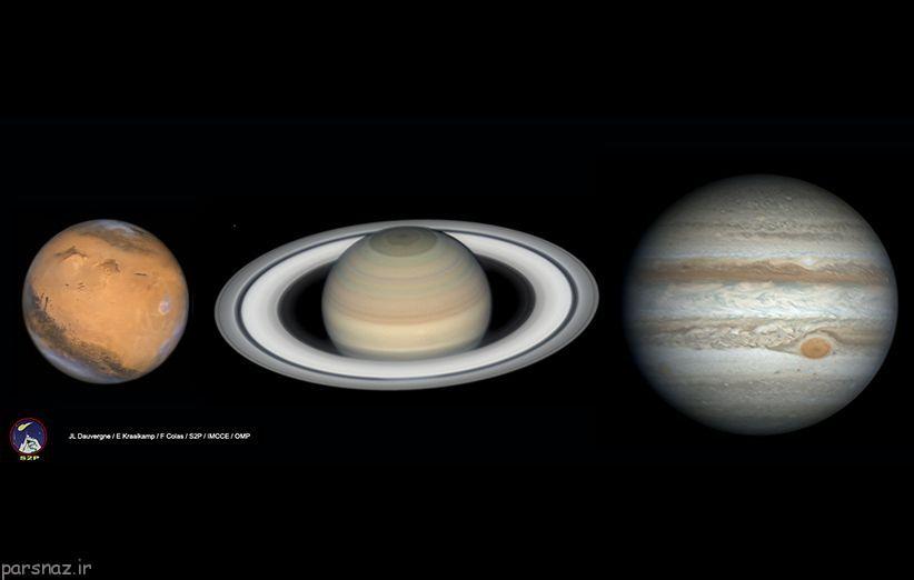 سه سیاره ای که این شب ها می توان دید