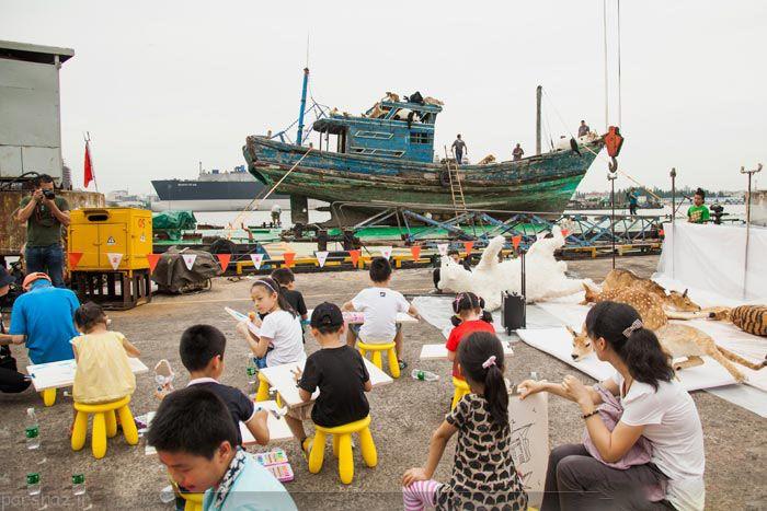 حمایت از محیط زیست با کشتی نوح