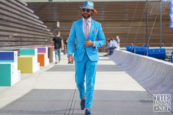 تیپ های منتخب مردانه در شوی لباس ایتالیا
