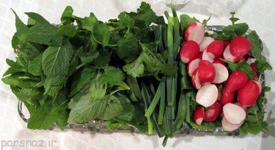 آموزش تازه نگه داشتن سبزی خوردن