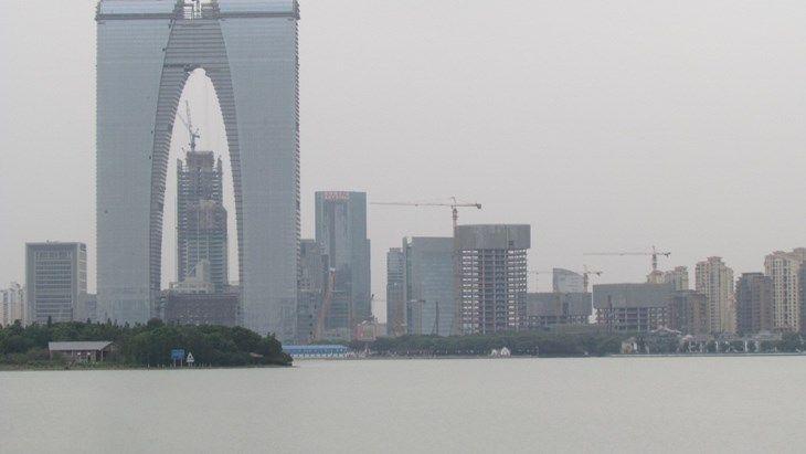ساخت ساختمان های خلاقانه برای معماران چینی ممنوع