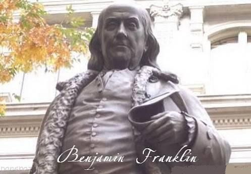 بنجامین فرانکلین لازم است گاهی بد باشیم