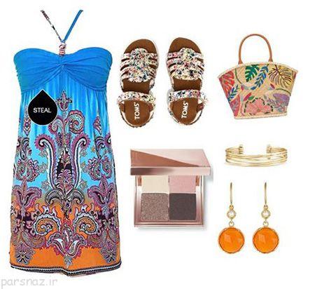 مدلهای جدید ست کردن لباس رنگی برای تابستان