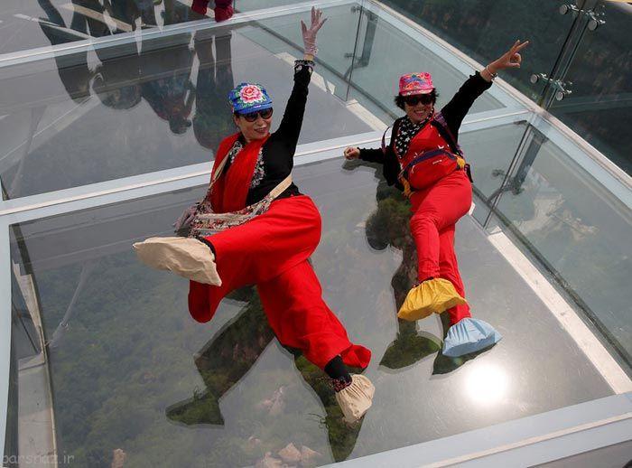عکس های هیجان انگیز از ترسناک ترین پل دنیا