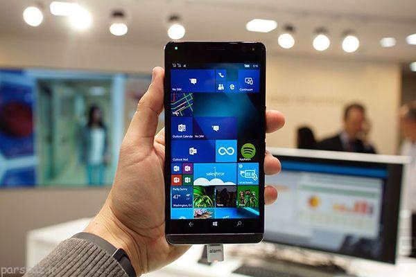 گوشی هوشمند HP با نام Elite X3