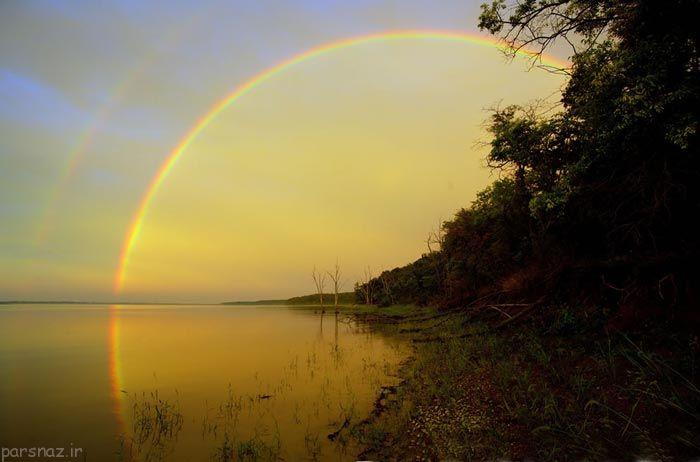 زیباترین و قشنگترین رنگین کمان های دنیا